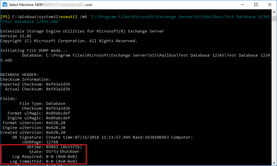 sudden down of Exchange Server