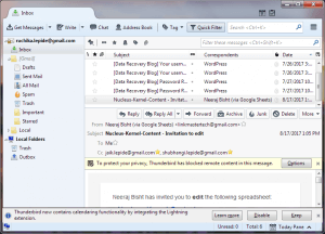 Thunderbird - a free MBOX email application from Mozilla Opera Mail