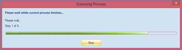 scan completion depends on the total size of the OST file