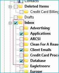 Select all the folder(s) as per your requirement