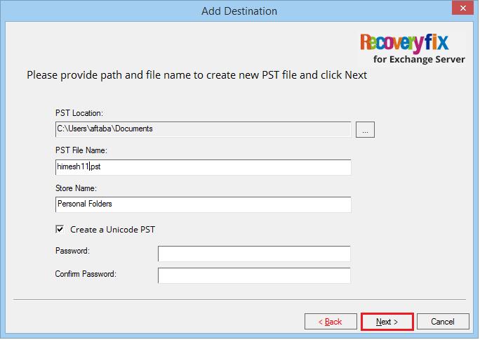 click Next