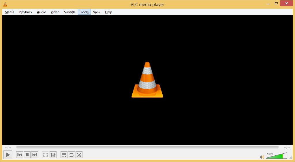 Run the VLC media player