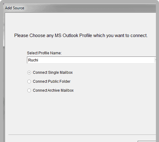 Migrate Outlook profiles