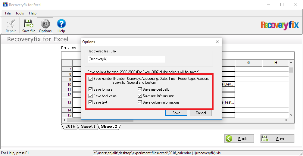 Manually specify the given objects